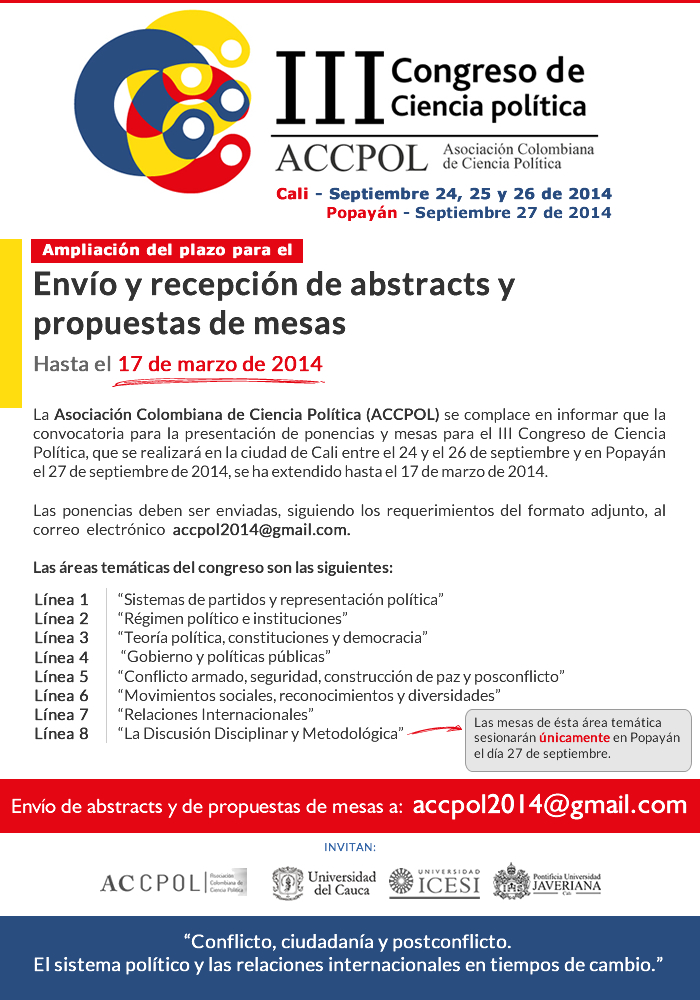call for papers accpol