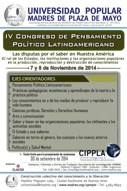 IV Congreso - Afiche