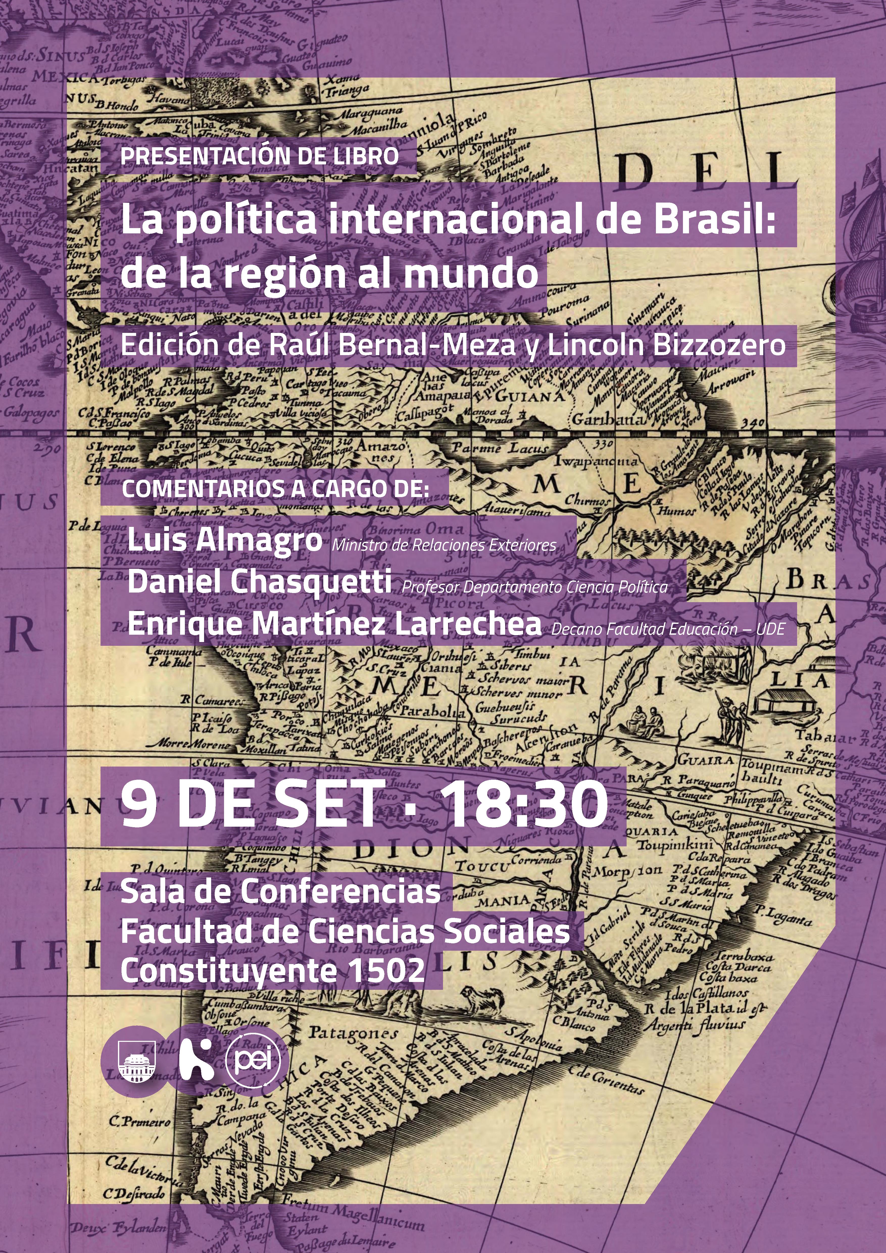 Invitacion Libro Política Internacional de Brasil