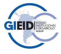 GIEIDALACIP - GRUPO DE INVESTIGACIÓN ALACIP ESTADO, INSTITUCIONES Y DESARROLLO
