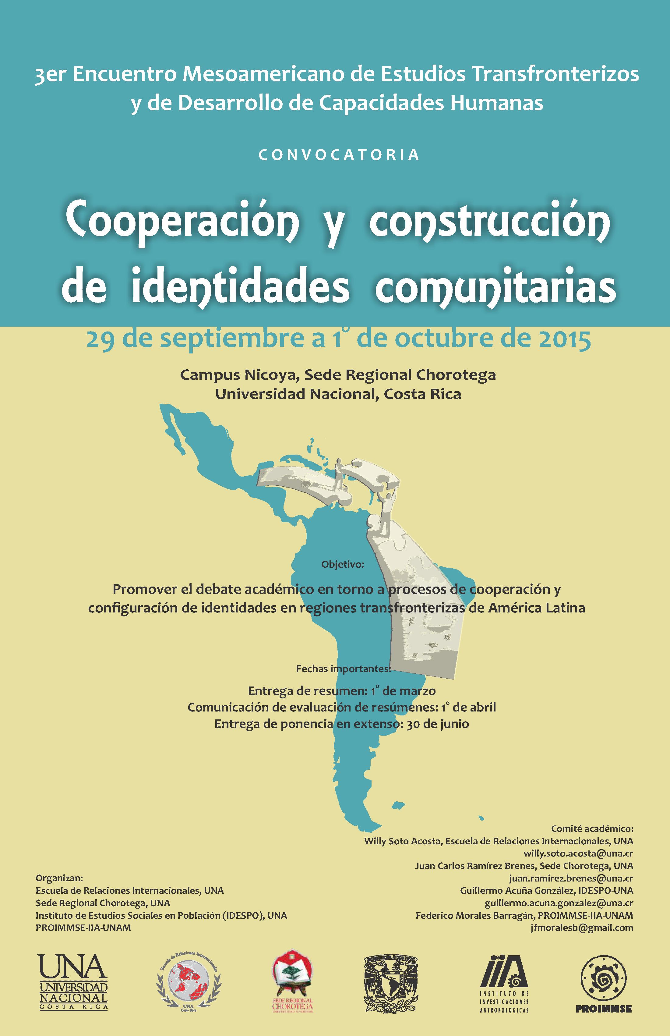 III Encuentro Estudios Transfronterizos UNAM-UNA