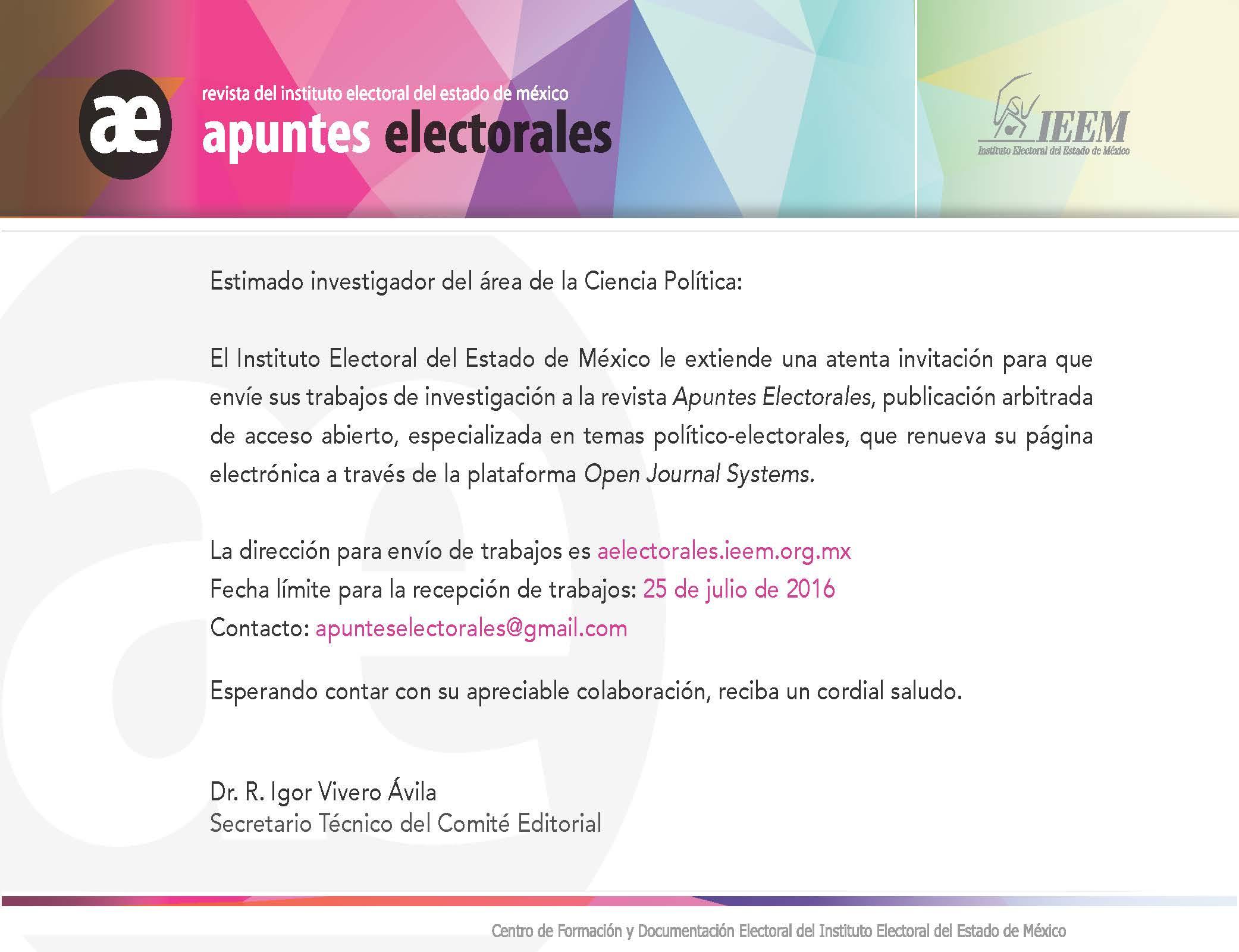 Invitación investigador junio 2016