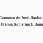 Premio Guillermo O'Donnell